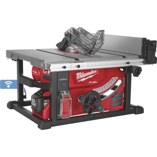Milwaukee M18 FUEL 18-Volt Lithium-Ion Brushless 8-1/4 In. Cordless Table Saw w/One-Key Kit