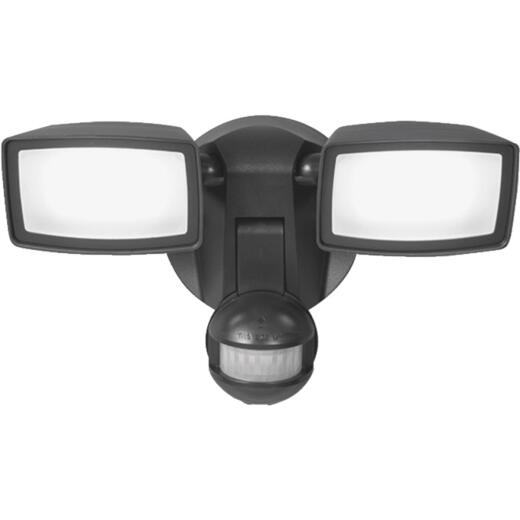 All-Pro Bronze Motion Sensing Dusk To Dawn LED Floodlight Fixture