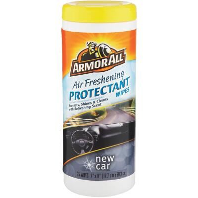 Armor New Car Scent Wipe Protectant Wipe