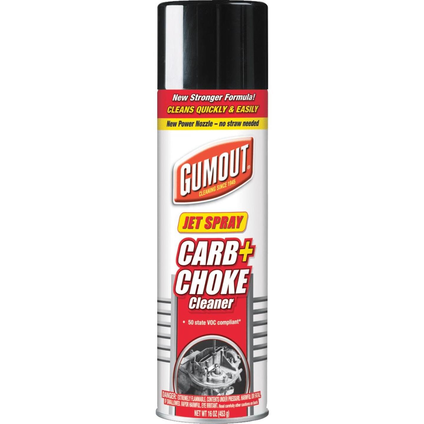 Gumout 16 Oz Aerosol Carburetor Cleaner Image 1