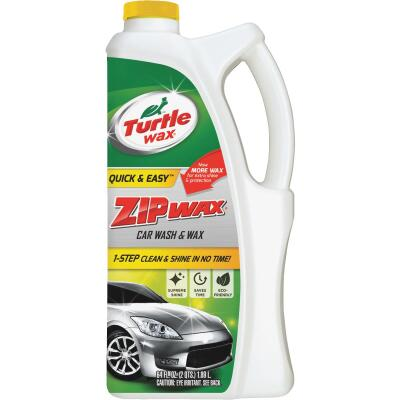 Turtle Wax Zip Wax Liquid 64 oz Car Wash