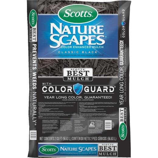 Scotts Naturescapes 2 Cu. Ft. Classic Black Cedar Mulch