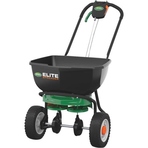 Scotts Elite 65 Lb. Broadcast Push Spreader